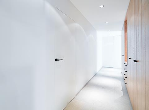 Invisidoors: Invisible fire-resistant interior doors