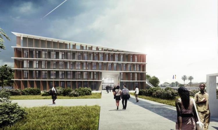 De Coene Products werkt mee aan prestigieuze bouw in Kinshasa (Afrika)