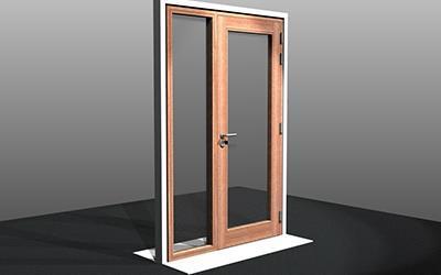 Deco Vision, onze nieuwe massief houten, maximaal beglaasde deur
